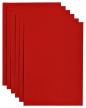 , Kopieerpapier Papicolor A4 100gr 12vel rood
