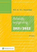 W.L. Roozendaal , Arbeidswetgeving 2021/2022