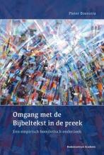 Pieter  Boonstra Omgang met de Bijbeltekst in de preek