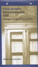 Privé-domein scheurkalender / 2016