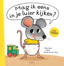 Guido Van Genechten , Mag ik eens in je luier kijken, boek + knuffel