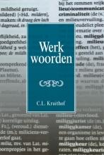 C.L. Kruithof , Werkwoorden