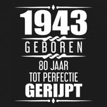 Albaspirit Gastenboeken , 1941 Geboren 80 Jaar Tot Perfectie Gerijpt
