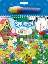, Kleuren met water - De Smurfen