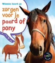 Anita  Ganeri Mijn eerste docuboek Zorgen voor je paard