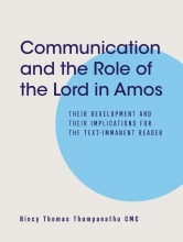 Bincy Thomas Thumpanathu , Communication and the Role of the Lord in Amos