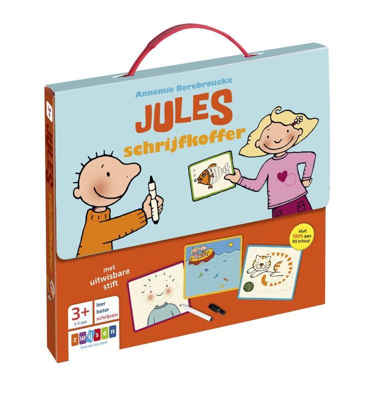 Annemie Berebrouckx,Jules schrijfkoffer 3-5 jaar