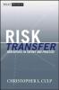 Culp, Christopher L.,Risk Transfer