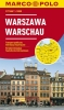 ,Marco Polo Warschau Cityplan