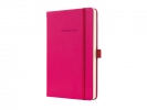 ,<b>notitieboek Sigel Conceptum Pure hardcover A5 roze          gelinieerd</b>