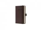 ,notitieboek Sigel Conceptum Pure hardcover A6 bruin geruit