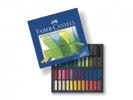 ,pastelkrijt Faber Castell halve lengte etui à 48 stuks