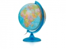 ,globe Night & Day 25cm met kunststof voet en verlichting