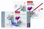 ,<b>Bruynzeel 70-delig kleurblik + schetsboek</b>