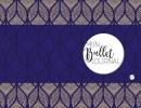 ,Mijn bullet journal - blauw