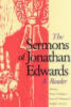 Edwards, Jonathan The Sermons of Jonathan Edwards - A Reader (Paper)