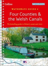 Collins Maps Four Counties & the Welsh Canals