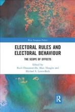 Michael S. Lewis-Beck Ruth Dassonneville    Marc Hooghe, Electoral Rules and Electoral Behaviour