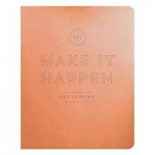 Galison Make It Happen Copper Deluxe Pocket Undated Planner