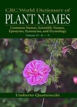 Umberto Quattrocchi CRC World Dictionary of Plant Names