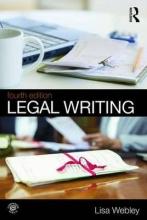Lisa Webley Legal Writing