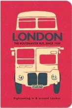 London Stitch Blank Pocket Notebook