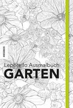 Leporello Ausmalbuch Garten