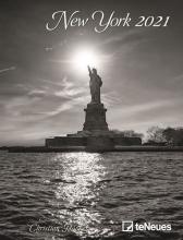 , Bureauagenda 2021 teneues spiraal 16.5x21.6 new york
