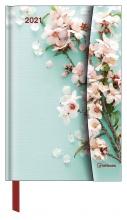 , Agenda 2021 teneues flowers links week rechts notitie 10x15 cm magneetsluiting
