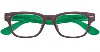 , Leesbril woody g42300 bruin groen 2.00