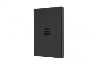 , Moleskine Limited Leather Notebook In Box Large Ruled Avio Blue
