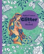 , Kleurboek Interstat volwassenen glitter thema mythial creatures