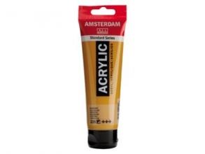 , Talens amsterdam acrylverf tube 120 ml. goudoker 231