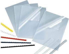 , Voorblad Quantore A4 PVC 300micron transparant 100stuks