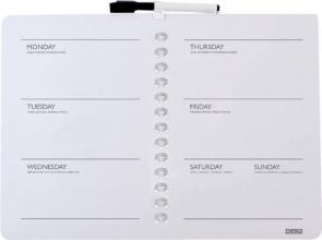 , Planbord Desq week 28x40cm magnetisch