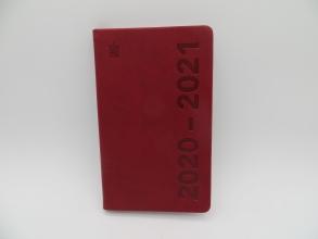 520cur110.ro , Schoolagenda cursus 2020-2021 deluxe rood