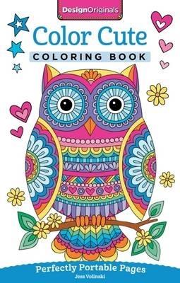 Jess Volinski,Color Cute Coloring Book