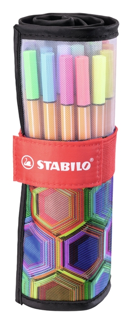 ,Fineliner Stabilo point 88 Arty edition ass