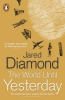 Diamond, Jared, World Until Yesterday