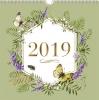 ,<b>Weekkalender 2019 vierkant 21x21 marjolein bastin</b>