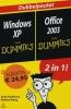 <b>Andy Rathbone, Walalce Wang</b>,Voor Dummies Windows XP + Office 2003