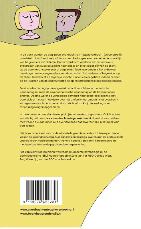 Fee van Delft,Overdracht en tegenoverdracht