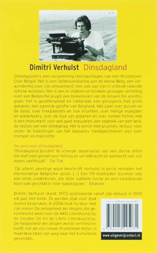 Dimitri Verhulst,Dinsdagland