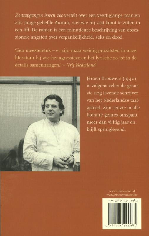 Jeroen Brouwers,Zonsopgangen boven zee