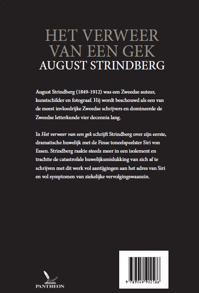 August Strindberg,Het verweer van een gek