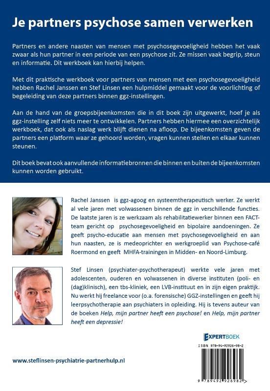 Stef Linsen, Rachel Janssen,Je partners psychose samen verwerken