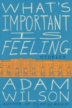 Wilson, Adam What`s Important Is Feeling