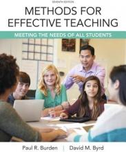 Burden, Paul R.,   Byrd, David M. Methods for Effective Teaching