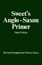 Sweet, Henry Anglo-saxon Primer
