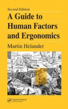 Helander, Martin A Guide to Human Factors and Ergonomics, Second Edition